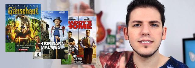 YouTube Neuvorstellungen: DVD & Blu-ray Neustarts im YouTube-Video