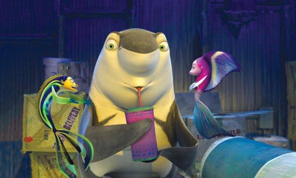 Große Haie - Kleine Fische