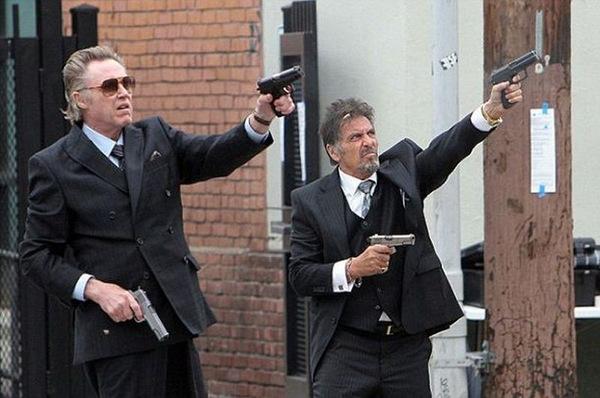 Christopher Walken und Al Pacino in 'Stand Up Guys' © Lionsgate 2012