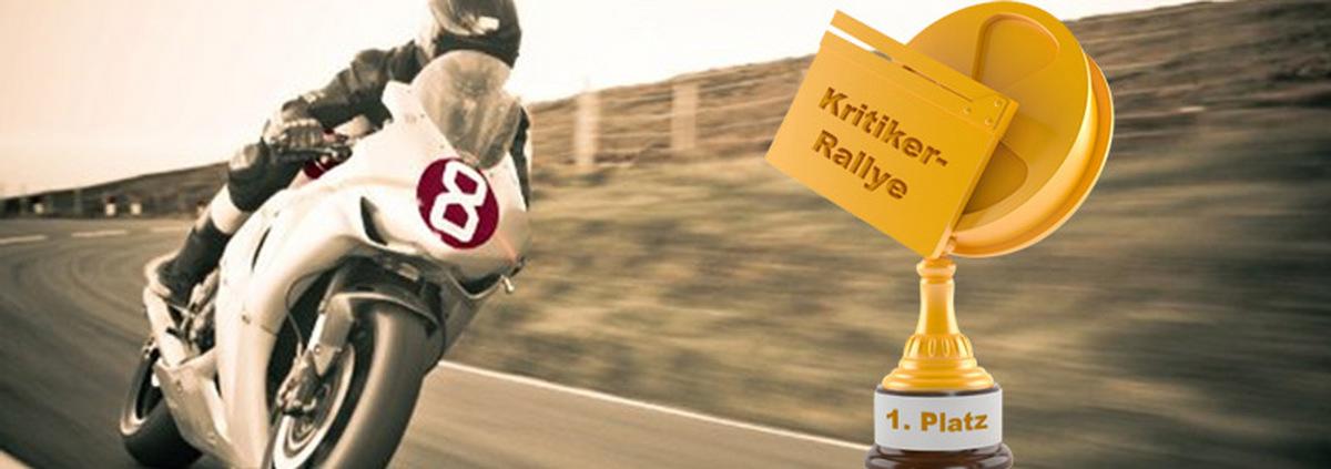 Kritiker-Rallye-Gewinner: Eine heiße Kritiker-Rallye mit Guthaben!
