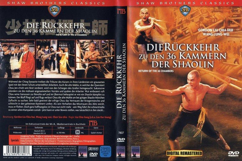 Die 36 Kammern Der Shaolin
