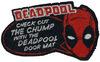 Deadpool Chump powered by EMP (Fußmatte)