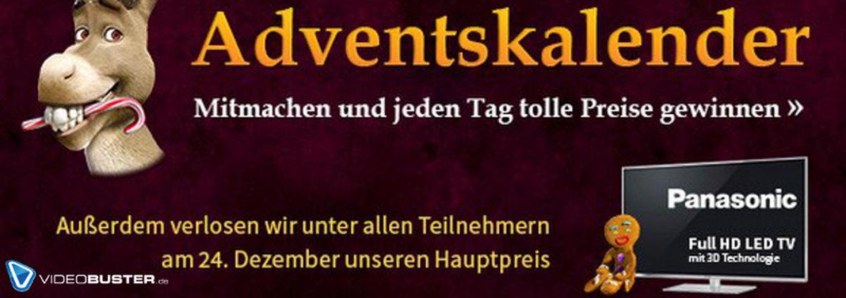 Adventskalender 2013: Im Adventskalender vom 1. bis 24.12. tolle Preise gewinnen!