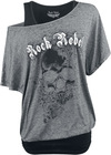 Rock Rebel by EMP When The Heart Rules The Mind powered by EMP (T-Shirt)