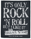 The Rolling Stones It's Only Rock N Roll powered by EMP (Patch)