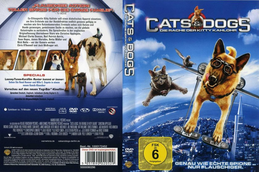 Cats And Dogs The Revenge Of Kitty Galore Dvd