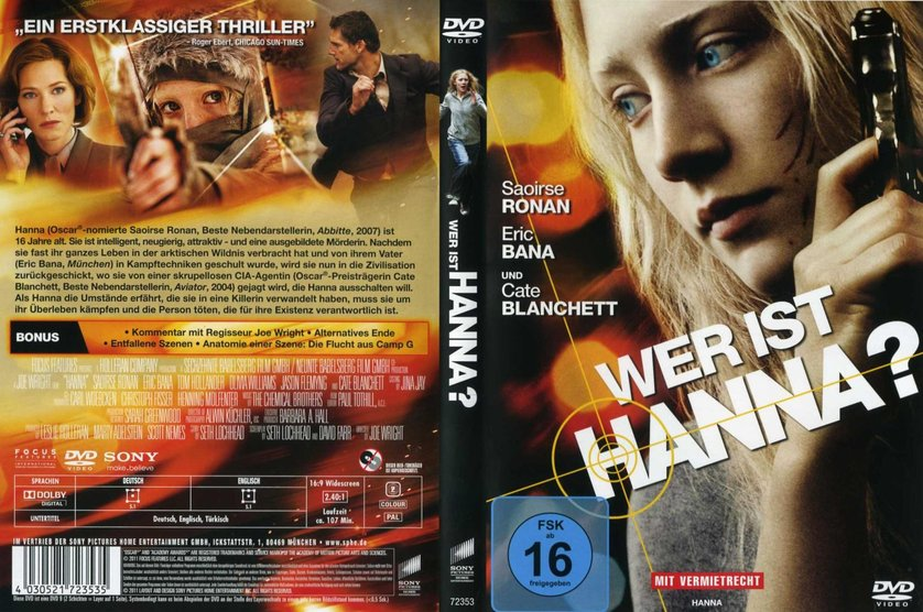 Wer Ist Hanna Dvd Oder Blu Ray Leihen Videobusterde