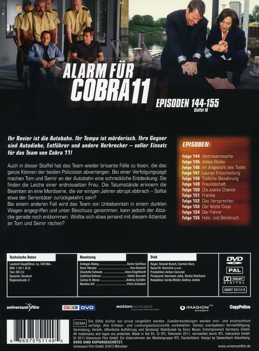 alarm fГјr cobra 11 staffel 19