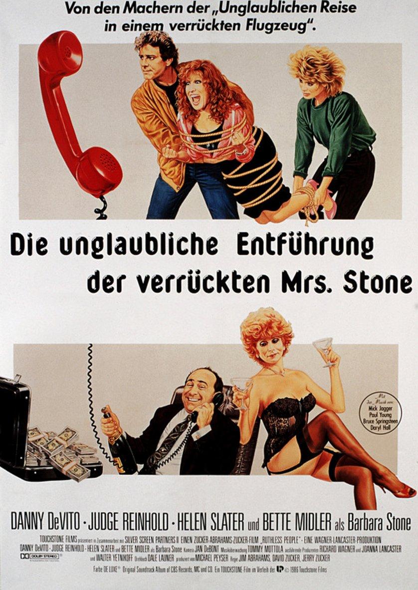 Die Unglaubliche Entf 252 Hrung Der Verr 252 Ckten Mrs Stone Dvd