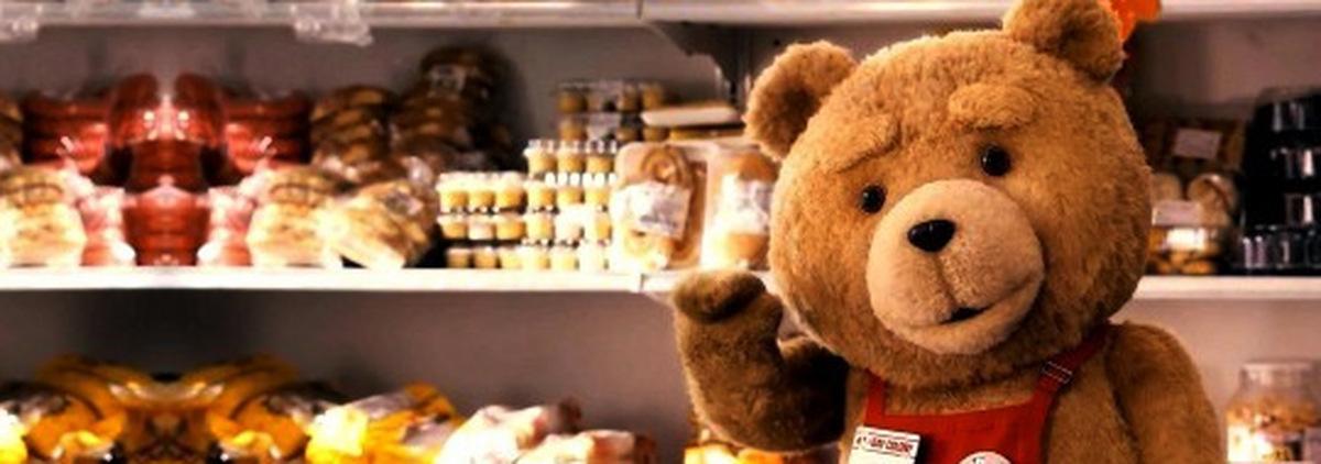 Seth MacFarlane spricht Ted © Universal Pictures