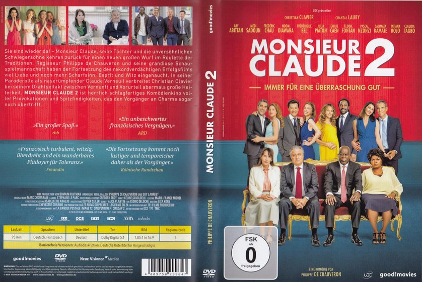 Monsieur claude und seine töchter 2 stream