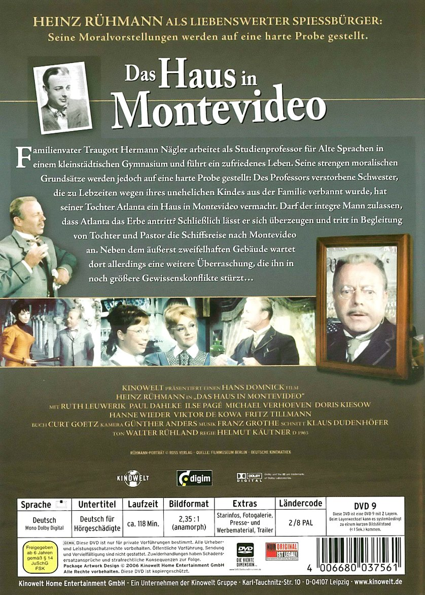 Das Haus in Montevideo DVD oder Blu ray leihen