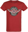 The Falcon And The Winter Soldier Who Will Wield The Shield? powered by EMP (T-Shirt)