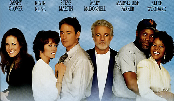 1991: Teil eines All-Star-Casts in 'Grand Canyon'