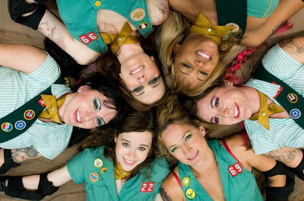 Die 'Rollergirls' © Senator Film