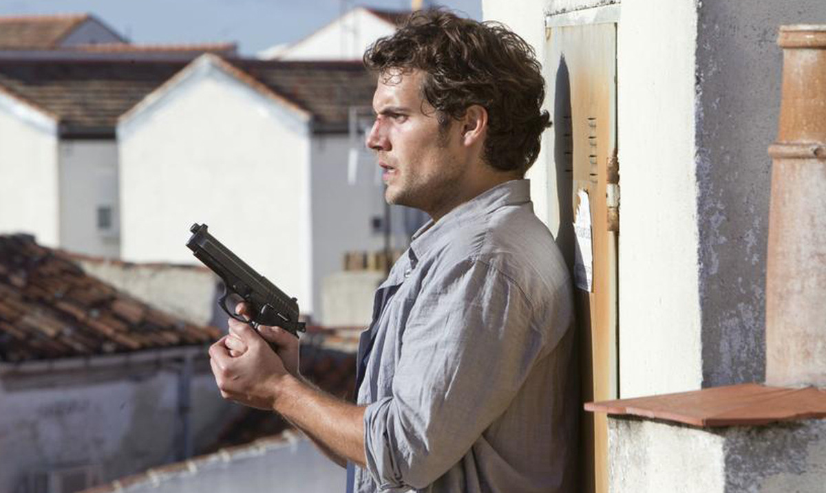Henry Cavill in 'The Cold Light Of Day' © Concorde Home Entertainment 2012