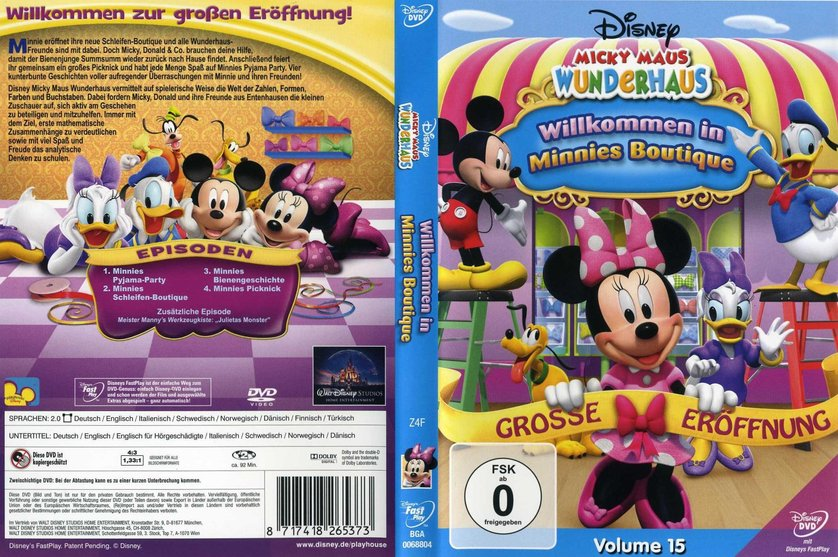 91+ Wandtattoo Micky Maus Wunderhaus - Micky Maus Wunderhaus 15 ...