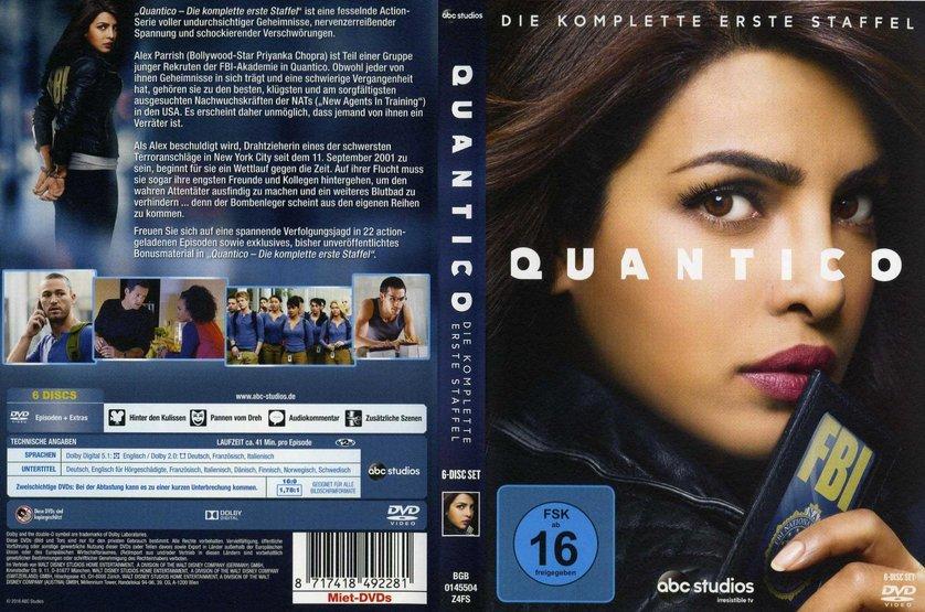 quantico staffel 1 dvd oder blu ray leihen. Black Bedroom Furniture Sets. Home Design Ideas