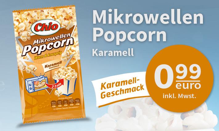 Chio Popcorn Karamell Geschmack (100g)