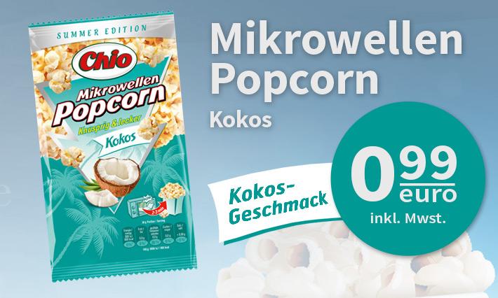 Chio Popcorn Kokos Geschmack (100g)