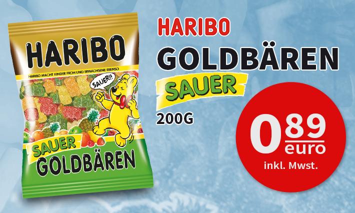 Haribo Sauer Goldbären (200g)
