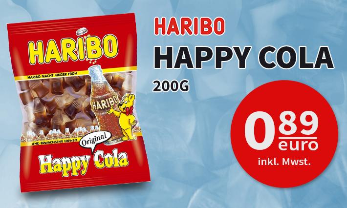 Haribo Happy Cola (200g)