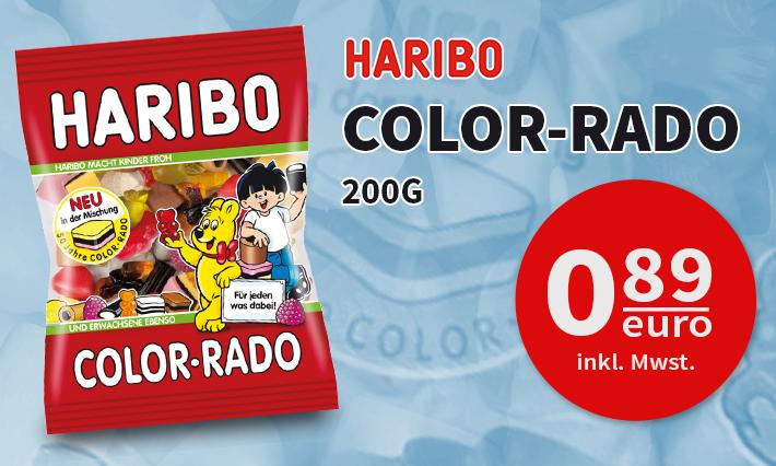 Haribo Color-Rado (200g)