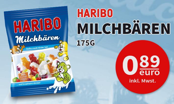 Haribo Milchbären (175g)