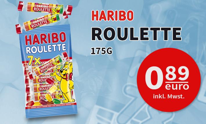 Haribo Roulette 7er Pack (175g)
