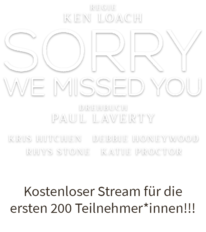 Sorry We Missed You bei VIDEOBUSTER.de